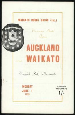 Auckland vs Waikato