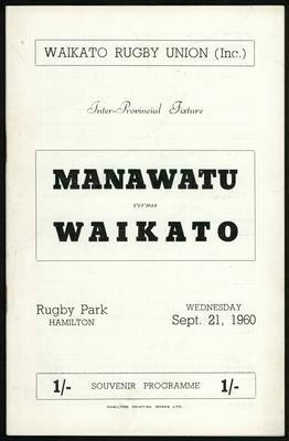 Manawatu vs Waikato