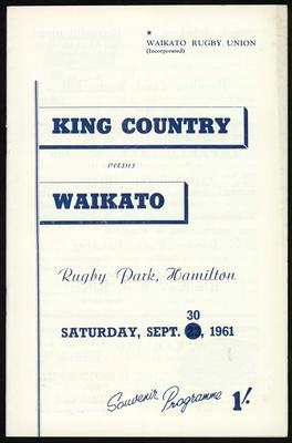 King Country vs Waikato