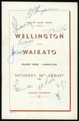 Wellington vs Waikato