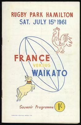 France vs Waikato