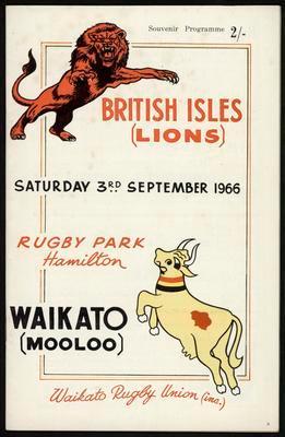 British Isles (Lions) vs Waikato (Mooloo)