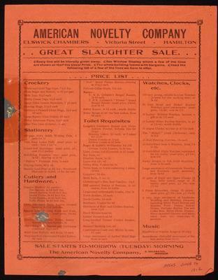 American Novelty Company