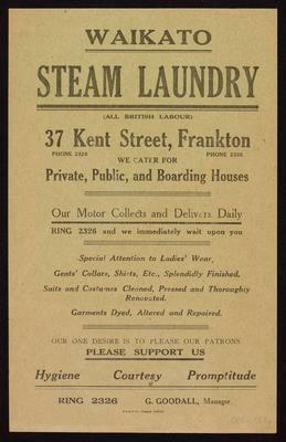 Waikato Steam Laundry
