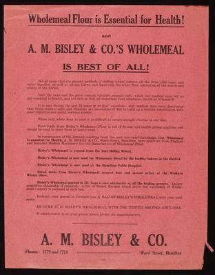 A M Bisley & Co