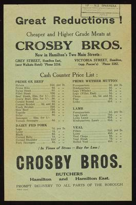 Crosby Bros