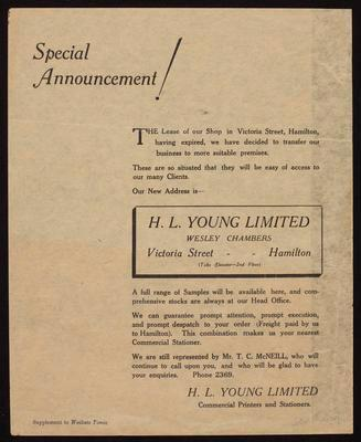H L Young Limited