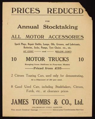 James Tombs & Co, Ltd