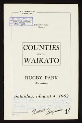 Counties vs Waikato