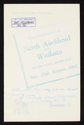 North Auckland vs Waikato