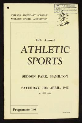 34th Annual Athletic Sports