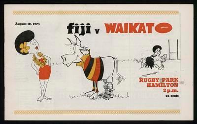 Fiji v Waikato
