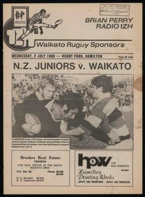 NZ Juniors V Waikato