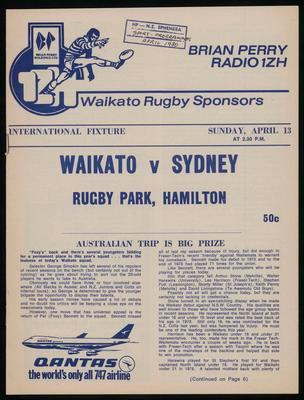 Waikato v Sydney