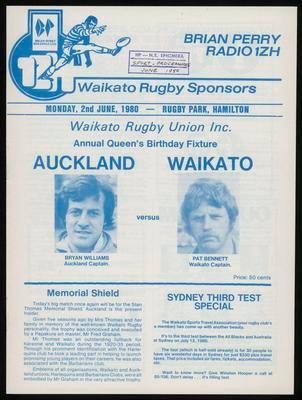 Auckland versus Waikato