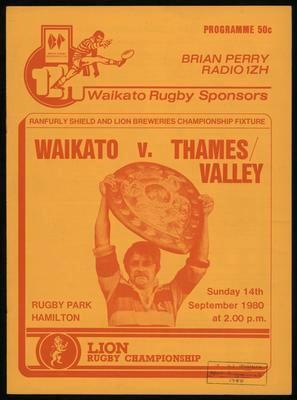 Waikato v Thames Valley