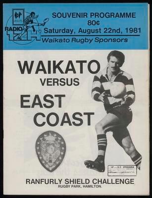 Waikato v East Coast