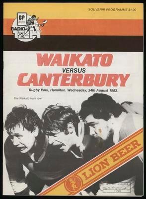 Waikato v Canterbury