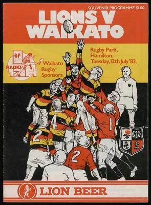 Lions v Waikato