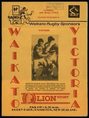 Waikato versus Victoria