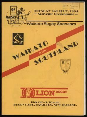 Waikato versus Southland