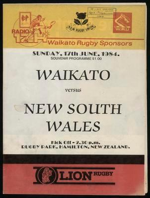 Waikato versus New South Wales