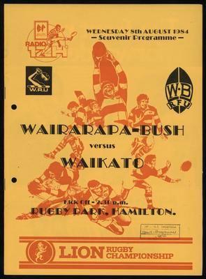 Wairarapa-Bush versus Waikato