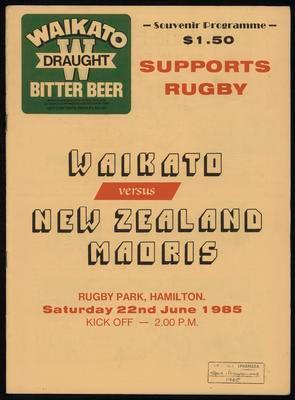 Waikato versus New Zealand Maoris