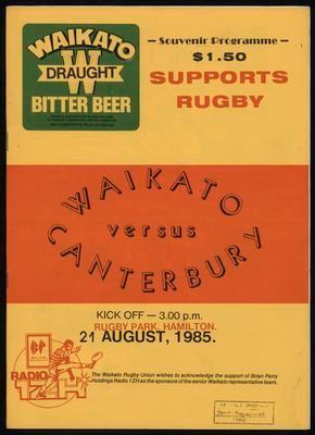 Waikato versus Canterbury