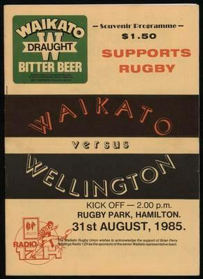 Waikato versus Wellington