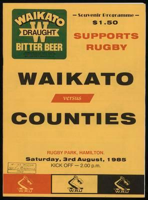 Waikato versus Counties