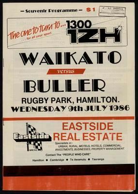 Waikato versus Buller