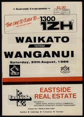 Waikato versus Wanganui