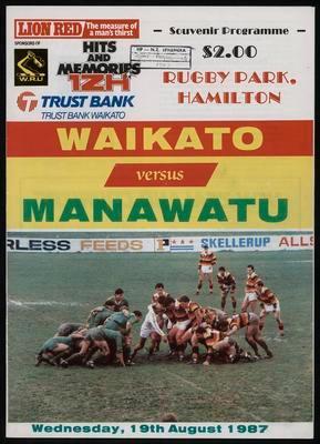 Waikato versus Manawatu