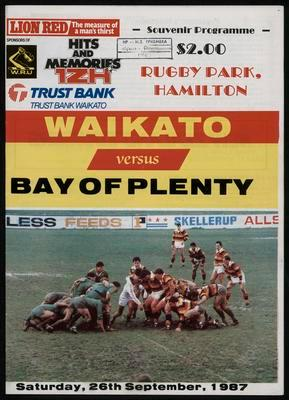 Waikato versus Bay of Plenty