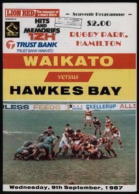 Waikato versus Hawkes Bay