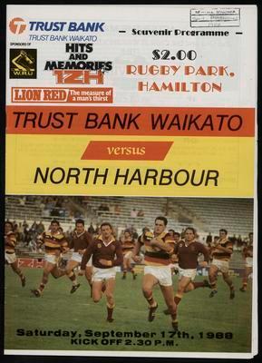 Trustbank Waikato versus North Harbour