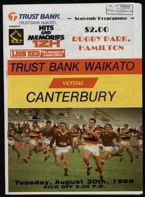 Trustbank Waikato v Canterbury