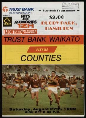 Trustbank Waikato v Counties