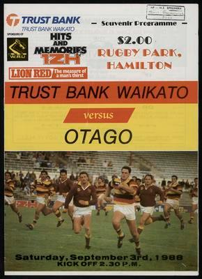 Trustbank Waikato v Otago
