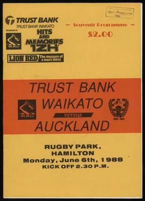 Trustbank Waikato v Auckland