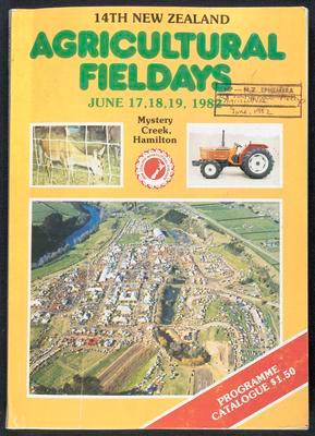 14th New Zealand Agricultural Fieldays