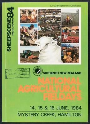 Sixteenth New Zealand National Agricultral Fieldays