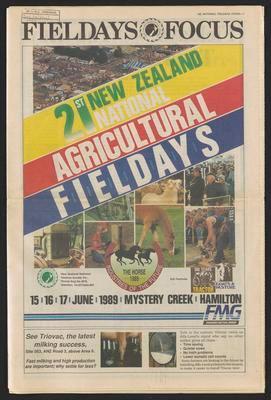 Fieldays Focus 21st New Zealand National Agricultural Fieldays