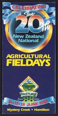 Celebrating the 20th New Zealand National Agricultural Fieldays