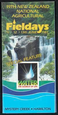 19th New Zealand National Agricultural Fieldays 11, 12, 13th June 1987
