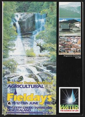 19th New Zealand National Agricultural Fieldays 11th, 12th, 13th June 1987