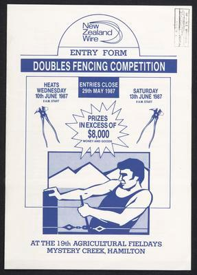 Doubles Fencing Competition