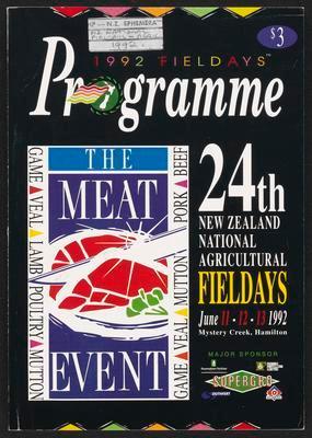 1992 Fieldays Programme