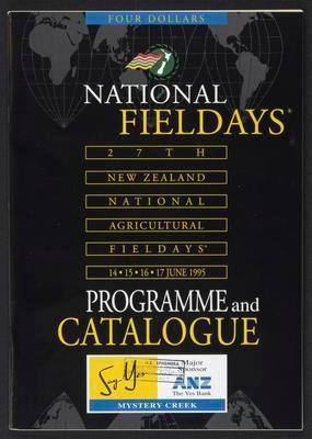 National Fieldays Programme and Catalogue